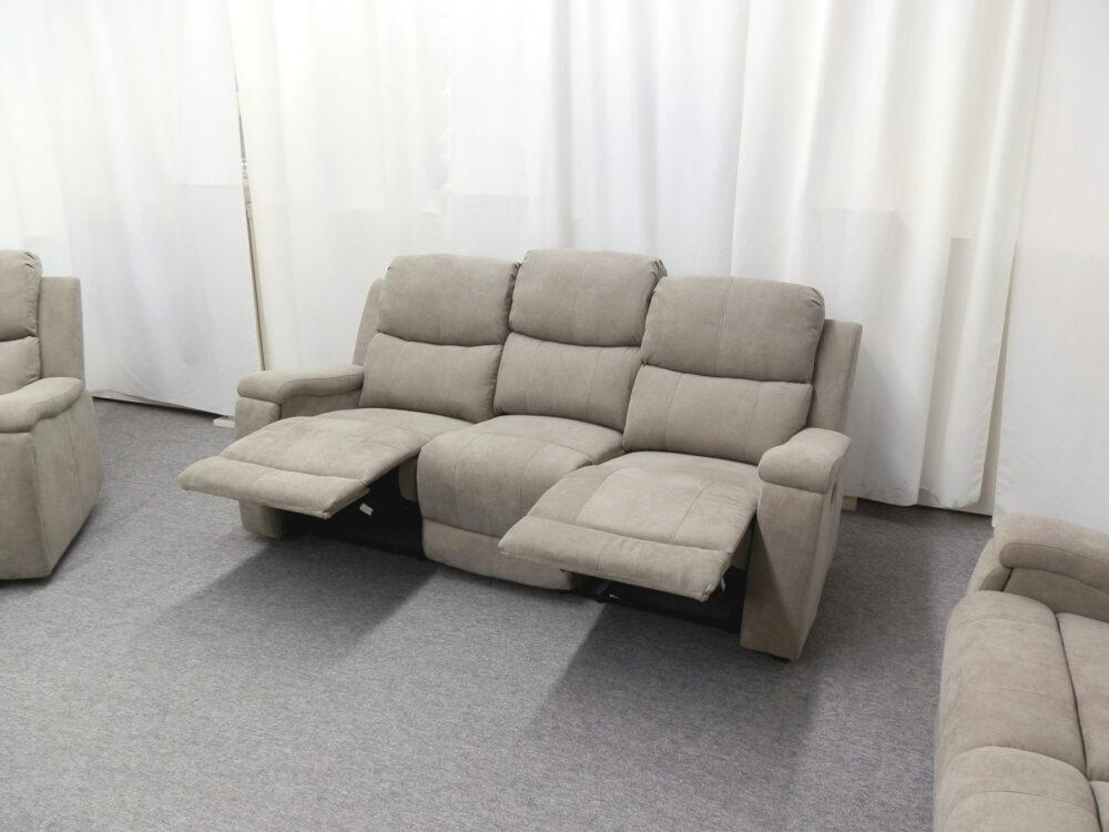 23571 - Reclining Sofa - PR-HEL - Open