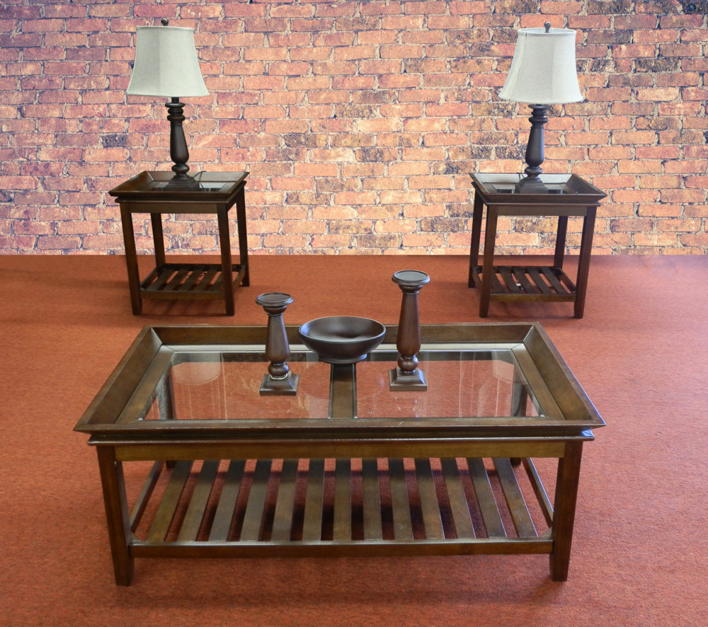 23641 - Coffee Table Set - MCI-S-ROSE