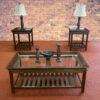 23641 - Coffee Table Set - MCI-S-ROSE