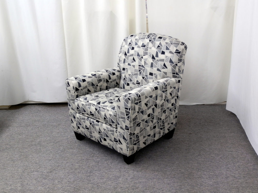23646 - Accent Chair - AU-420-1727P - Angle