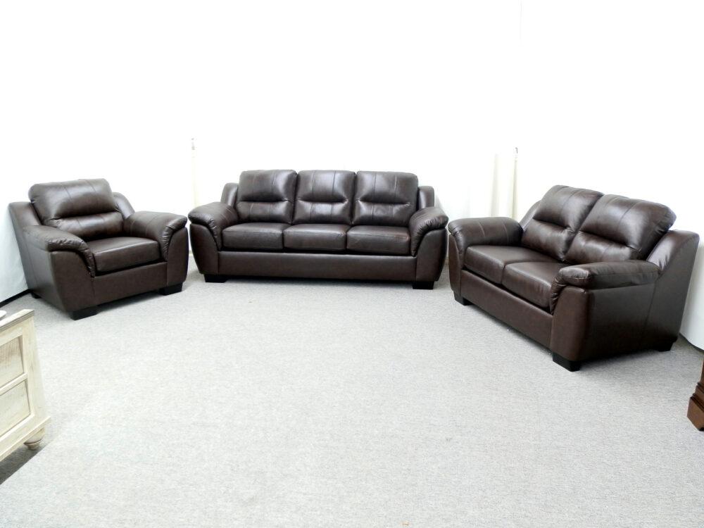 23674 - Sofa Set - AU-5150 - Chestnut