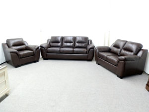 23674 - Sofa Set - AU-5150 - Chestnut