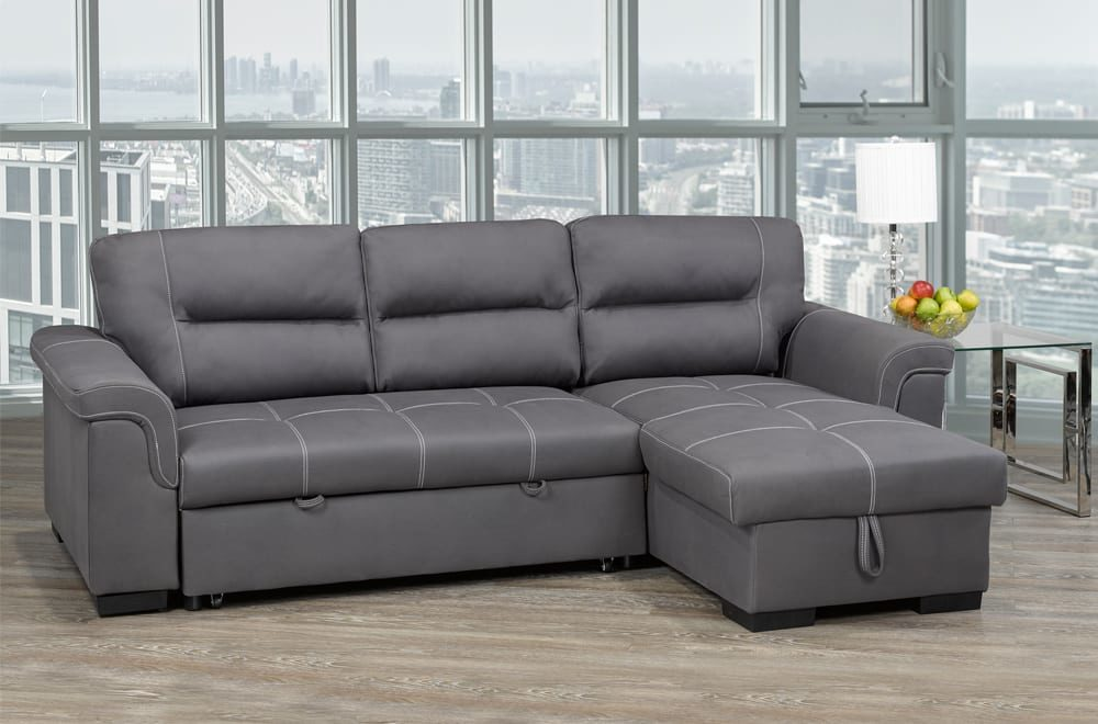 23695 - Chaisse Sectional with Popup Bed - TF-1217 - Scenic