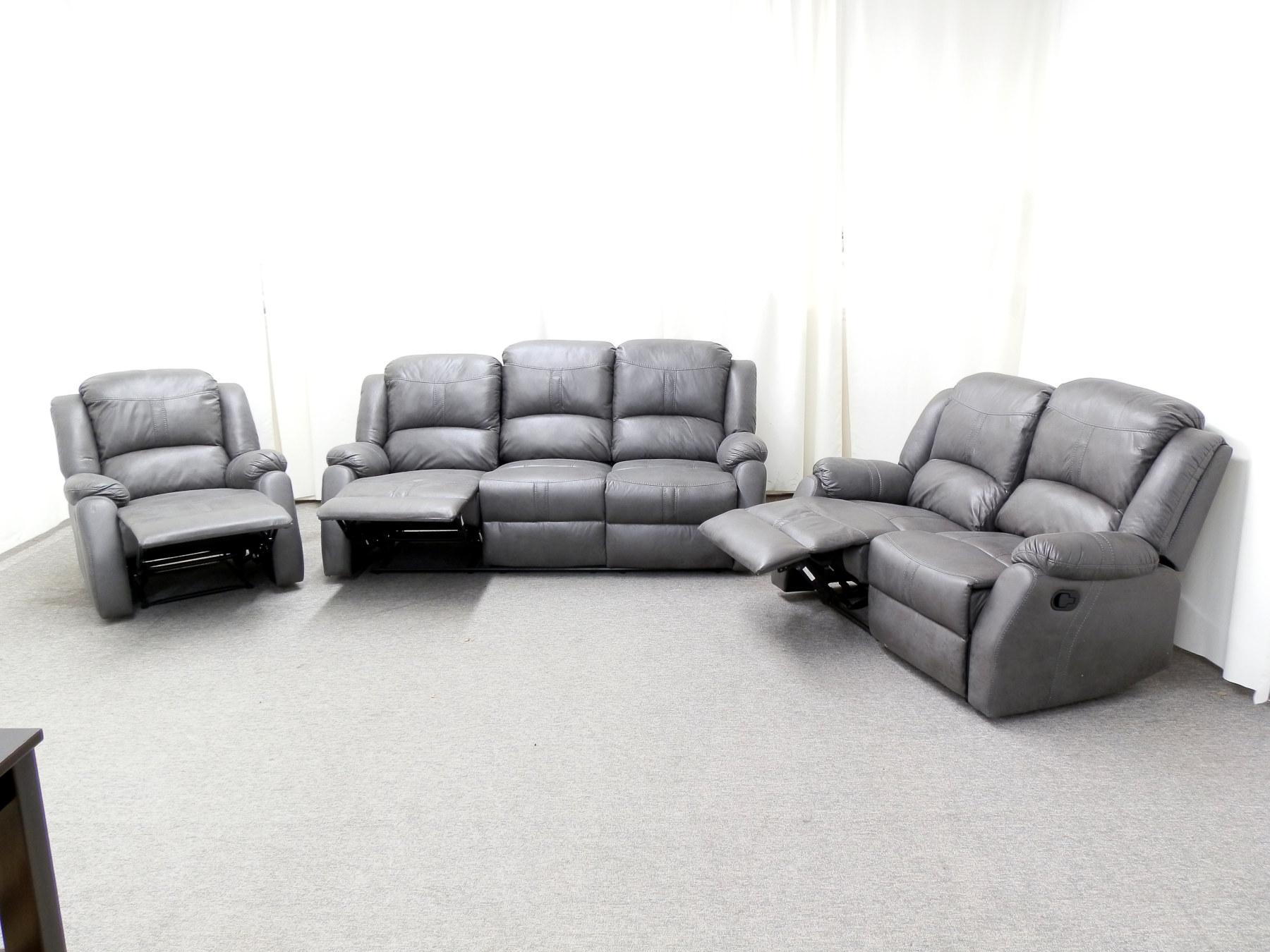23708 – Reclining Sofa Set – ZDF-SL108 – Open