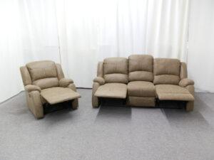 23711 - Reclining Sofa Set - Open