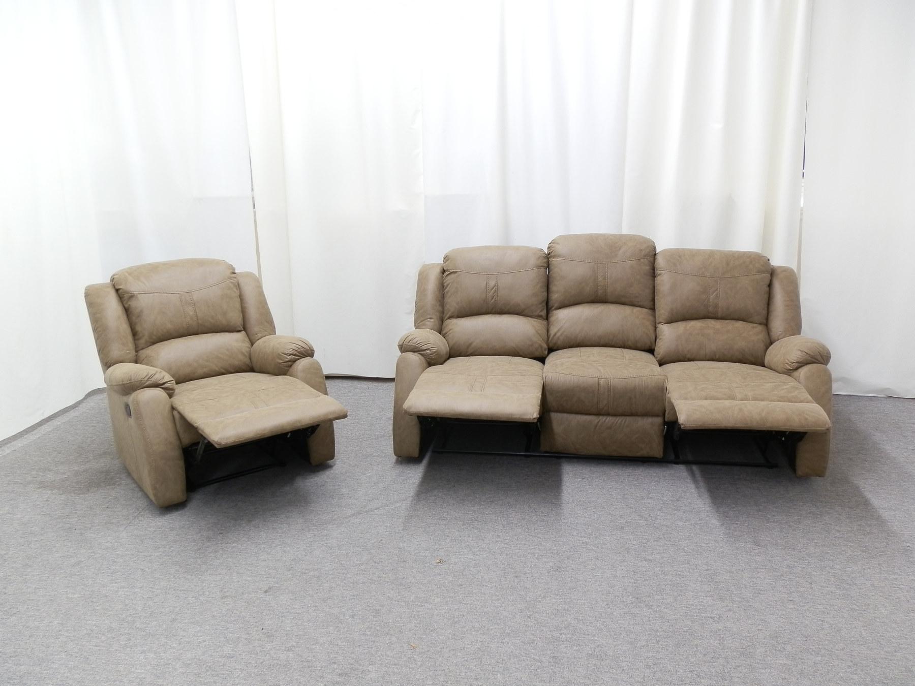 23711 – Reclining Sofa Set – Open