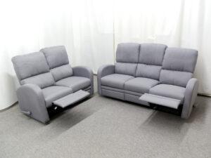 23786 - reclining - sofa - and - loveseat - MEGA-L7065 - open