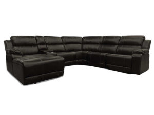 23790 - Reclining Sectional - LS-UF212 - Brown