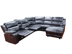 23790 - Reclining Sectional - LS-UF212 - Open