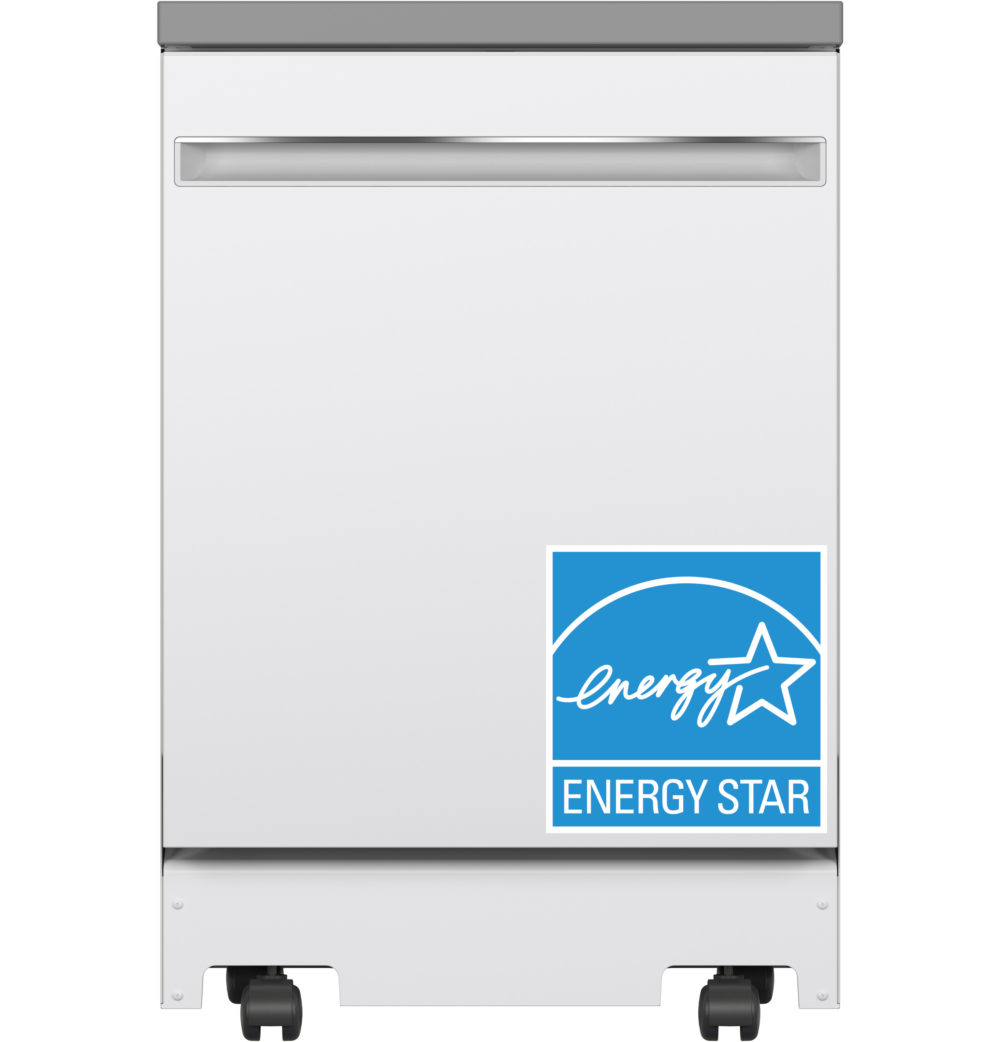 23809 - portable - dishwasher - GPT225SGLWW - energy - star