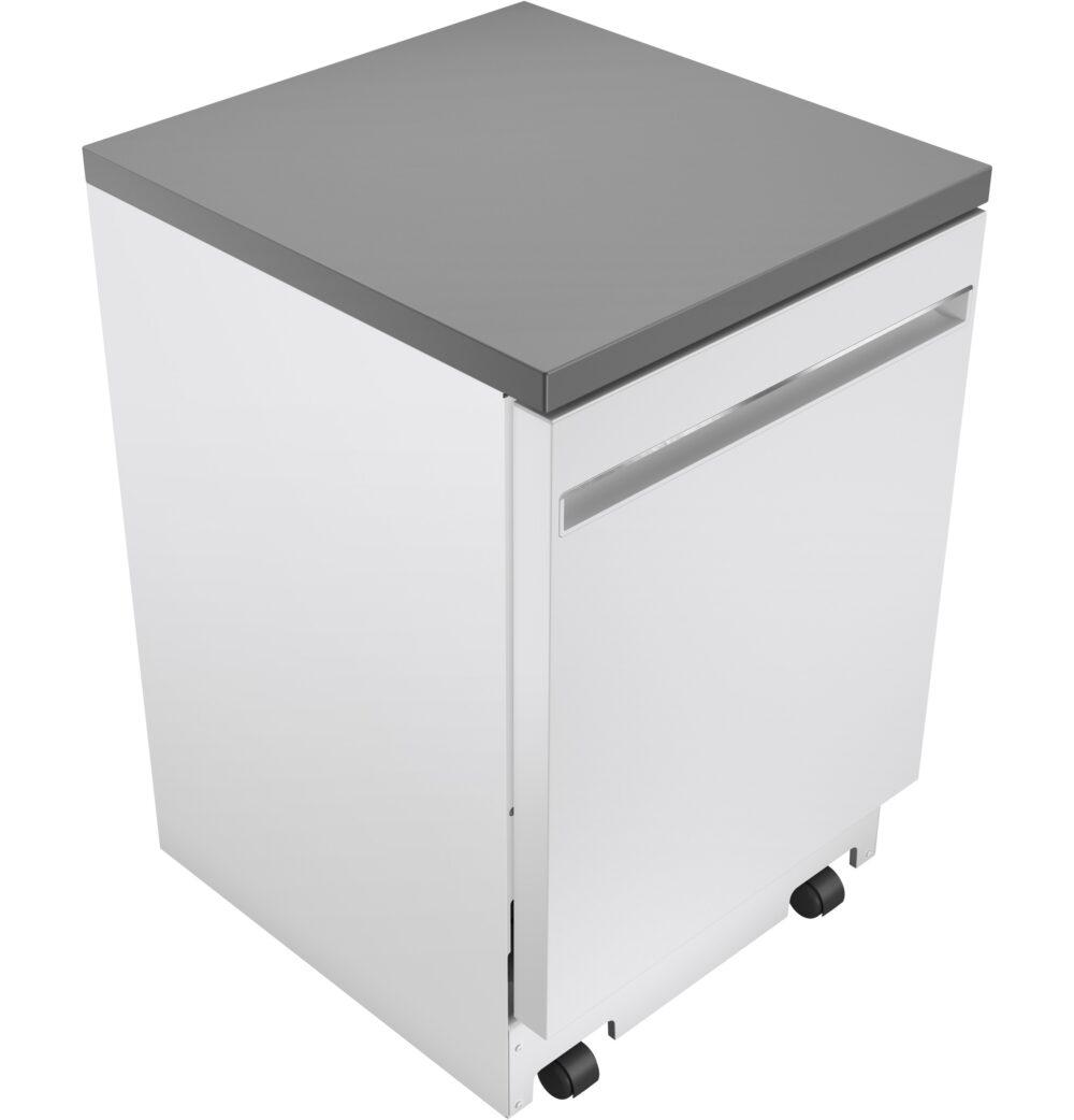 23809 - portable - dishwasher - GPT225SGLWW - top