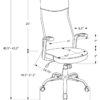 23816 - Office Chair - MN-7248 - Dimensions