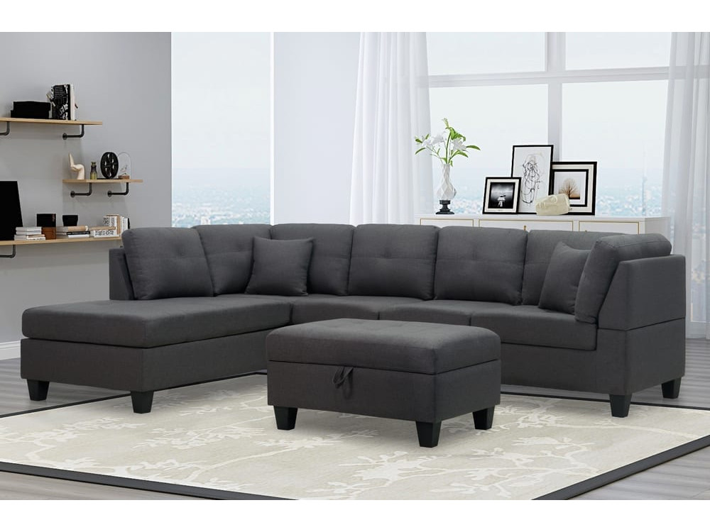 23830 – Chaisse Sofa with Pocket Coil Seating – TF-1232