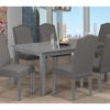 23833 - Table and 6 Chairs - TF-3002