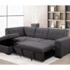 23856 - Chaisse Sofa with Popup Bed & Storage Ottoman - PR-Vincent - Open - Lifestyle