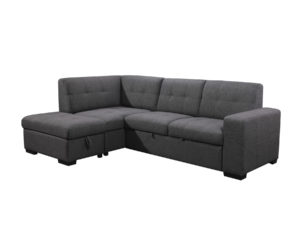23856 - Chaisse Sofa with Popup Bed & Storage Ottoman - PR-Vincent