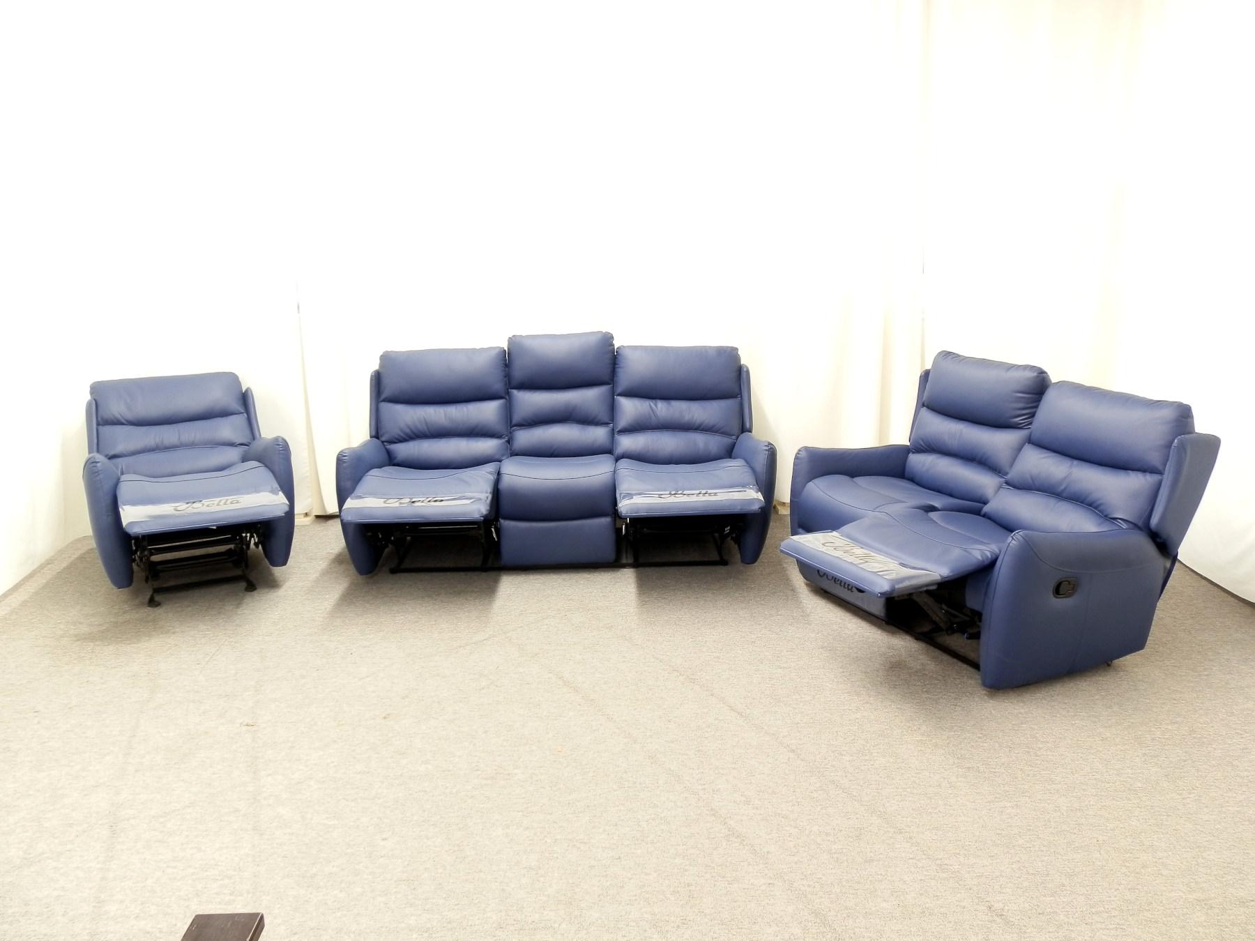 23895 – Reclining Sofa Set – MEGA-7965 – Open