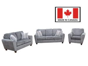 23922 - Sofa Set - Made in Canada - AU-3120-1722B