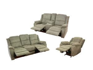 23938 - Reclining Sofa Set - MEGA-L8365 - Open