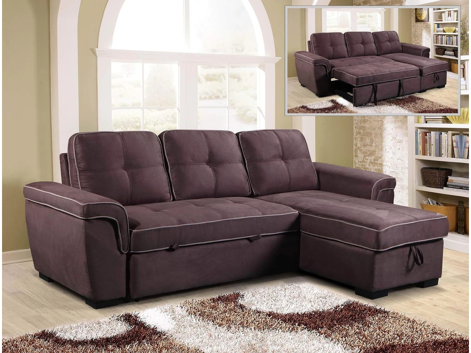 23951 - Chaisse Sofa with Popup Bed - PR-GIO