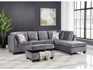23964 - Sectional Wit Sstorage Ottoman - BX-2059