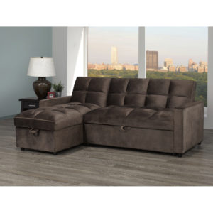 24076 - Sectional with Popup Bed - BX-XH19