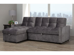 23970 - Sectional with Popup Bed - BX-XH19 - Grey