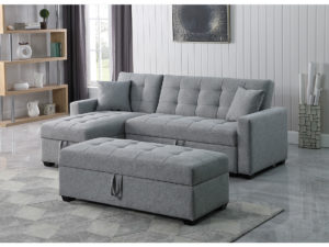 23979 - Chaisse Sofa with Popup Bed and Storage - BX-XH2004