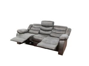 24002 - Power Reclining Sofa - UF-59929 - Grey