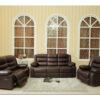 24013 - Sofa Set - MEGA-L8465 - Brown