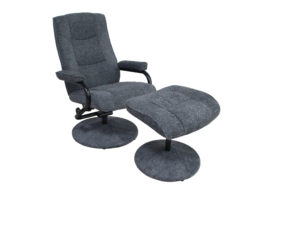 24021 - Swivel Chair and Ottoman - PR-abrion