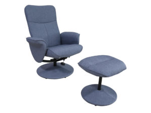 24022 - Swivel Chair and Ottoman - PR-troy