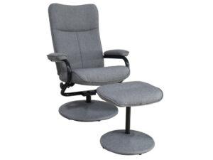 24023 - Swivel Chair and Ottoman - PR-ellery