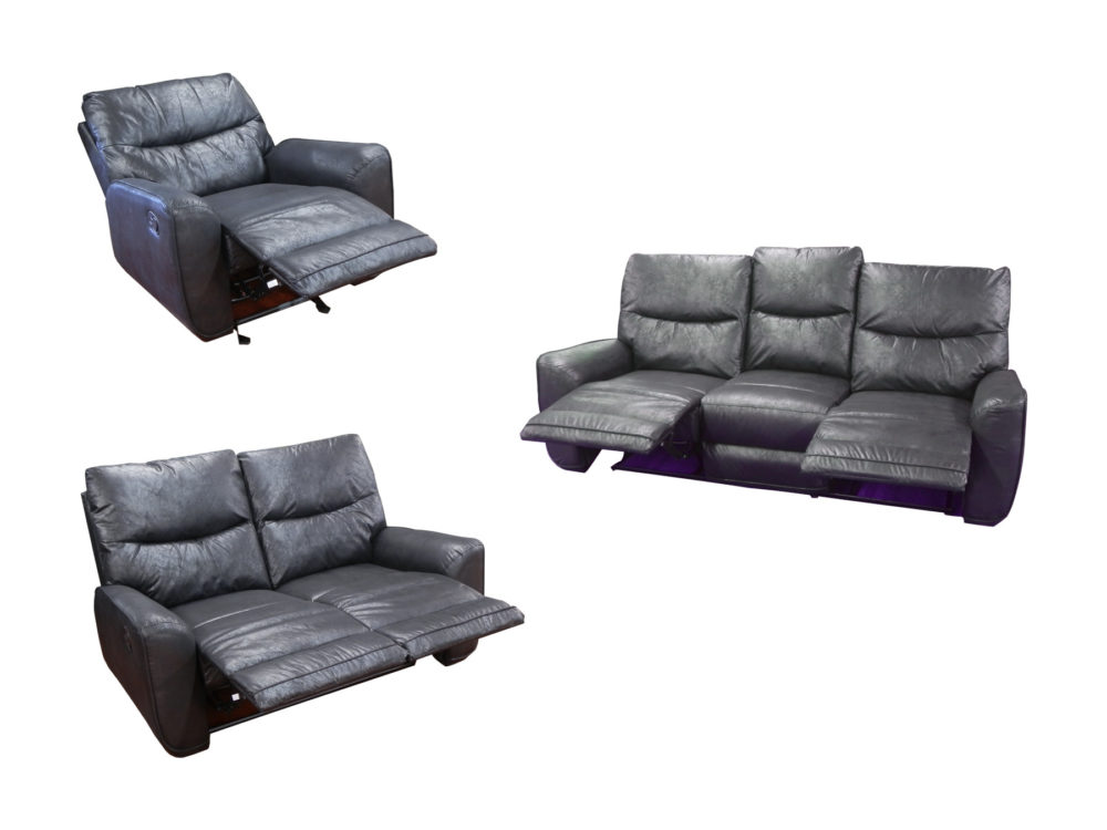 24119 - Reclining Sofa Set - AMA-DC