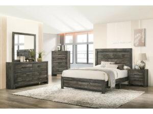24129 - Bedroom Set - MEGA-1201-rose