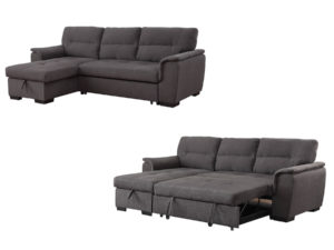 24249 - Reversable Sleeper Sectional - MF-9043-DG - Both