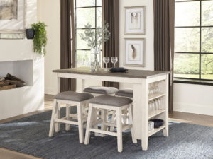 24300 - Pub Table With 4 Stools - MF-5603W