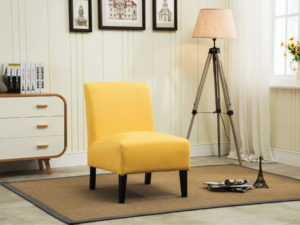 24324 - Accent Chair - MF-453 - Yellow