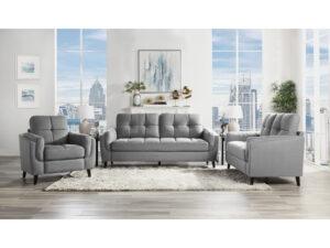 24325 - Sofa Set - MF-9340 - Grey