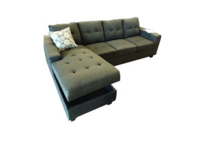 24331 - Chaisse Sofa With Storage - LTS-Cutie