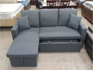 24333 - Chaisse Sofa With Popup Bed - LTS-Cyndi - 2