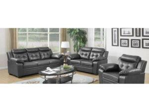 24375 - Sofa Set - LTS-Arani - Grey