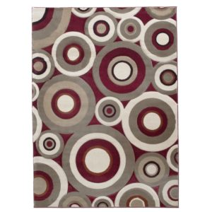 24420 - rug - sculpture-243-red