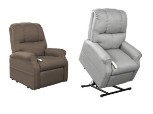 24467 - Power Lift Recliner - CA-WMM2001 - Grey and Brown