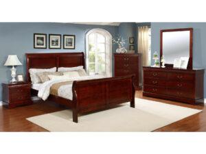 24479 - Bedroom Set - MEGA-751 - Cherry