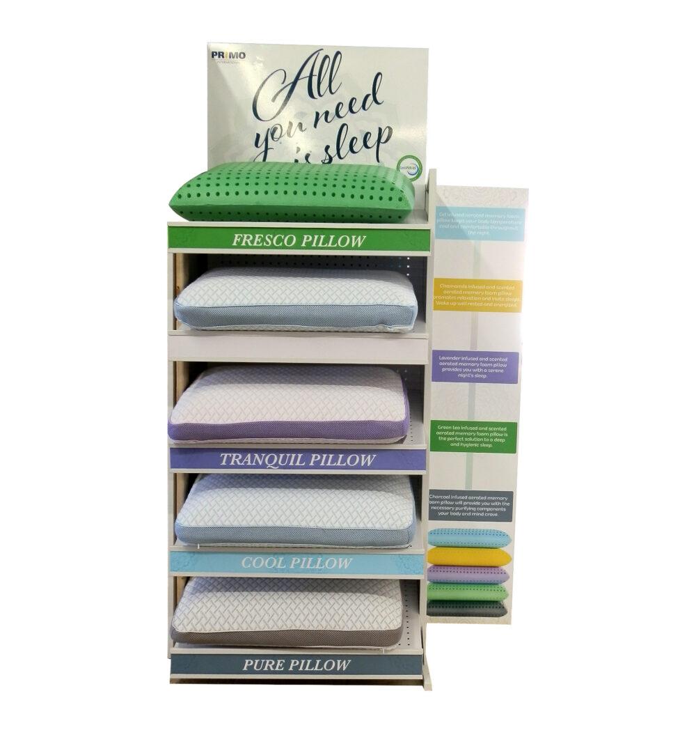 23333 - Memory Foam Pillows - Primo