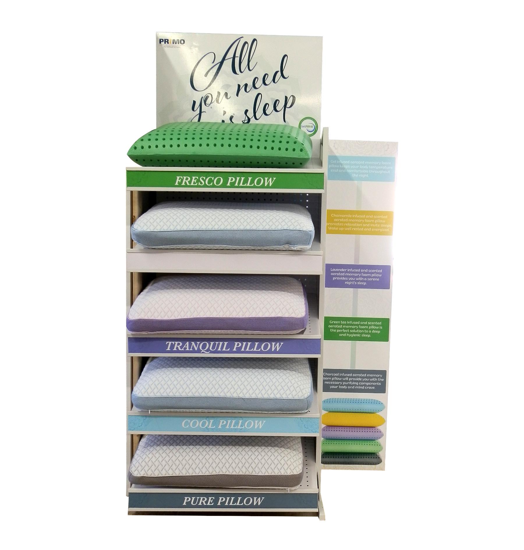 23333 – Memory Foam Pillows – Primo